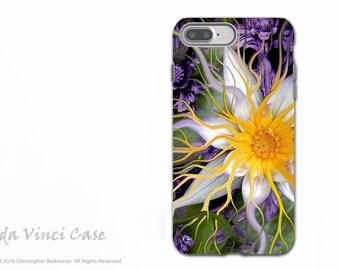 Purple Lotus Blossom - Artistic iPhone 7 PLUS - 8 PLUS Tough Case - Dual Layer Protection - Bali Dream Flower