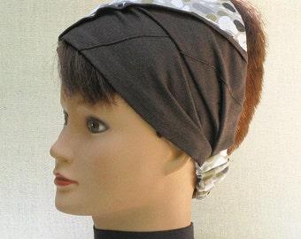 Headband leopard patterns, woman turban earth tones, hair accessory, clemenceAccessories