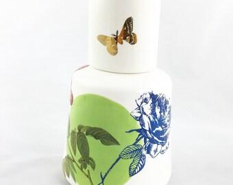 Ceramic Bottle - Handmade Ceramic Jar- Water Pitcher-Ceramics and Pottery-Home Decor-Office Decor
