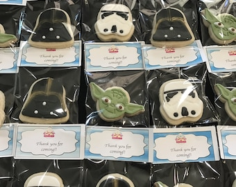 Star Wars 12pcs Nut-free and Egg-free Cookies