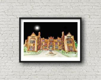 Thornton Manor Hotel, Wirral - Print