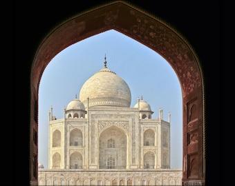 Poster, Many Sizes Available; Taj Mahal-Agra India P2