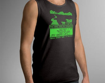 "Oregon Trail Inspired ""You Have Died of Dysentery"" Men's Tank Top"