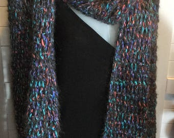 Scarf Stole Handcrochet wool and yarn,Long