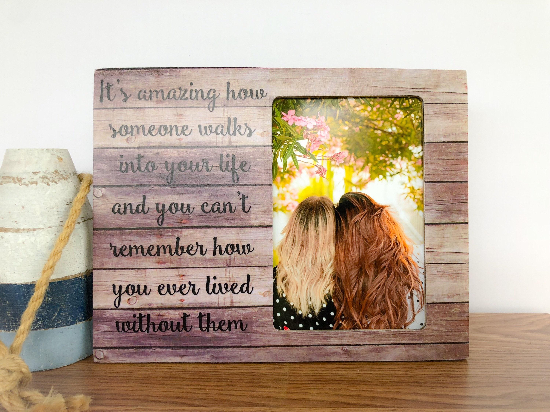 Personalisierte Beste Freunde Rahmen Freundschaft Rahmen Sie