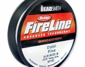 Fireline~ 6LB (Crystal color) 50 YDS