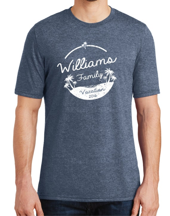 Family vacation shirt custom designreunion shirtsfamily for Printed t shirts for family reunion