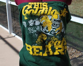 Green Bay Packers Clay Matthews Upcycled Womens Strapless Top Shirt Size Small/Medium