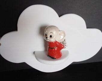 SALE large Cloud shelf, Handmade, Nursery, Shower gift, Child's room,
