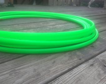 """3/4"""" UV Green Polypro Hoop"""