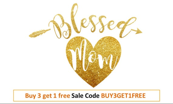 Mothers Day Svg Blessed Mama Svg Mom Svg Mothers Day Shirt Svg