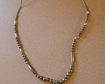 Vintage Hand Made Arrow Head Necklace Sterling