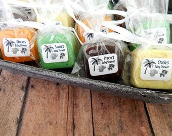 Jungle Baby Shower Favors Safari Baby Shower Favors Jungle Theme Party Favors Guest Soap Favors Noahs Ark Baby Shower Favors Animal Themed
