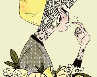 Sour Lemon • Print