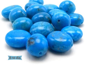Real Southwest Turquoise Ground Edge Nuggets--1 Pc. | KM-C5A-1