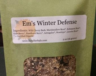 Em's Winter Defense Tea