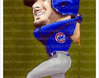 Kris Bryant, Chicago Cubs World Series Art Print