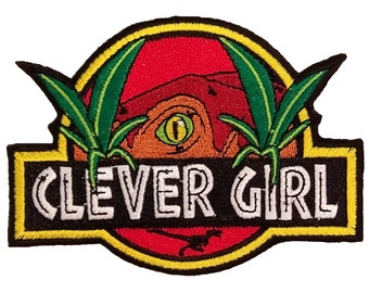 Clever Girl JP Sew On Patch