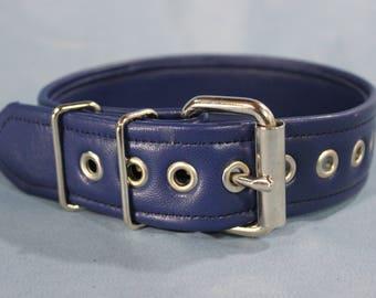 "Single Color Soft Leather Armband - 1.5"""