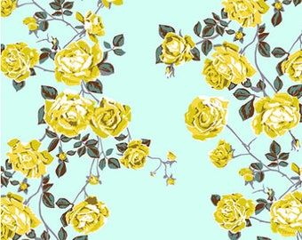 Floral Retrospective Fabric ~ Social Climber Ice by Anna Maria Horner for Free Spirit Fabrics