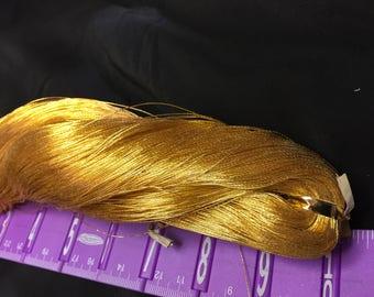 24 K Gold thread Saffron