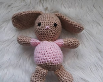 Small Crocheted Bunny