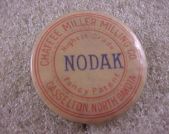 1930s Chaffee Miller Milling Company - Vintage Pinback Button