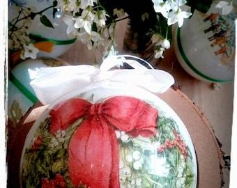 Christmas wreath ornament,Christmas bauble,Christmas gift idea,Christmas tree decoration,