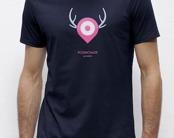 Poumchakk Navy | T-shirt | Eco-friendly