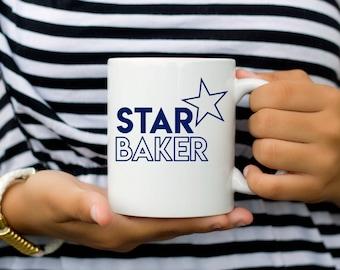 Great British Baking Show Coffee Mug | Star Baker Mug | Coffee Mug | Friend Gift | Pop Culture Mug | GBBO | Mary Berry | Paul Hollywood