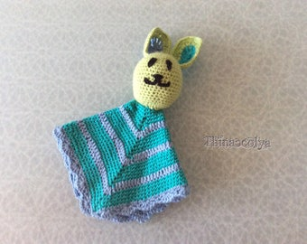 First blanket baby crochet Bunny