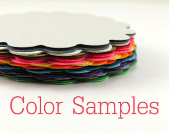 Color Samples - Free Shiping in U.S.A.