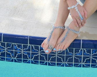 Instant Download | Beaded Barefoot Sandal | Chainmaille GutsyGuide for Mastering the Basics Course
