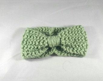 Bow front headband