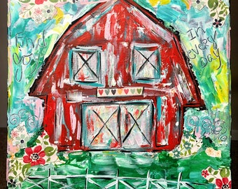 The Happiest Barn