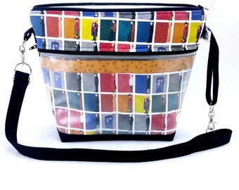 Travel Project Bag Organizer - Interchangeable Needle & Hook Tool Case - My Favorite Doctor