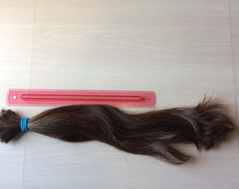 12-18 inches real virgin brown hair