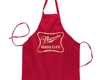 Nebraska Good Life Apron - BNEB5023