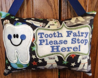 Astronaut  Personalized  Tooth Fairy Pillow