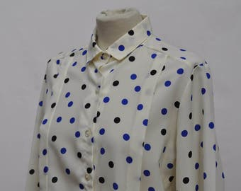 Polka Dot thin Blouse (DOWN FROM 24.99)