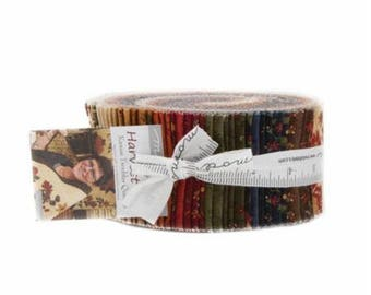 Harvest Hill Jelly Roll by Kansas Troubles Quilters for Moda
