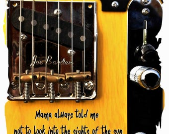 Bruce Springsteen Lyric Tribute Blinded By The Light