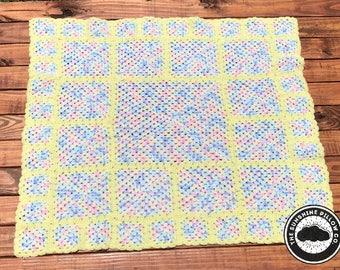 Sweet Yellow Baby Blanket
