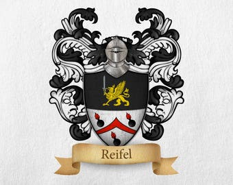 Reifel Family Crest - Print