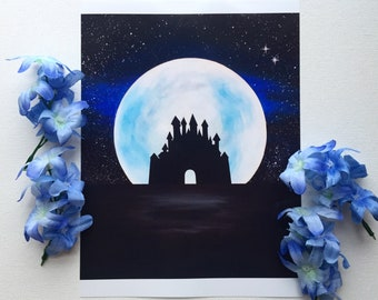 Midnight Castle Prints