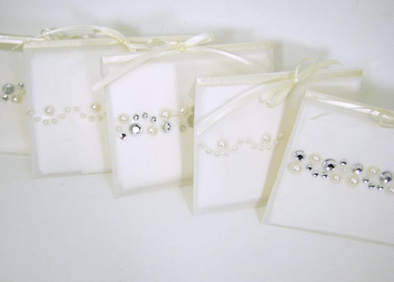 A set of 5 Gift Tissues in velum envelopes - for those moved to tears.