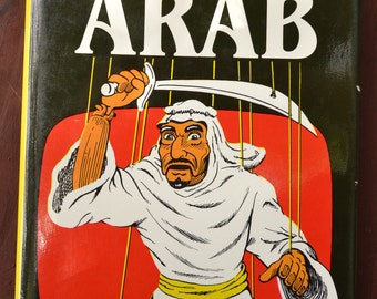 "Signed Copy ""The TV ARAB"" by Jack G. Shaheen Hardcover Book Signed By Author Copyright 1984"