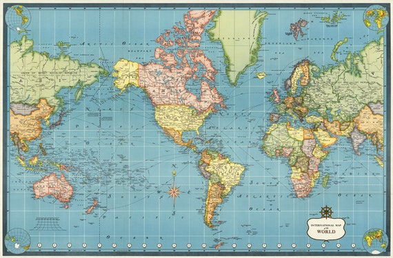 World map printable digital downloadntage world map old world world map printable digital downloadntage world map old world map map nursery roomintable mapwolrd map digital for map lovers gift from gumiabroncs Gallery