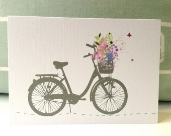 Greeting Cards . Birthday Cards . Thank You Cards . Spring Bike Ride