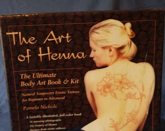 The Art Of Henna  !!!! Sale!!!